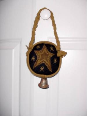 Primitive Star Door Hanger-
