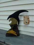 Andora the Halloween witch-