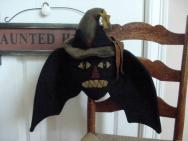 Bat Cat Hanging-