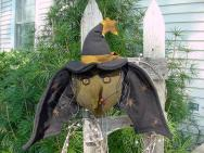 Bat Witch Hanging-
