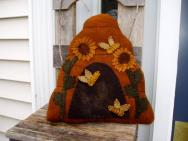 Beehive shaped pillow
