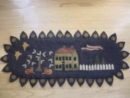 Colonial House penny rug runner kit