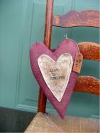 Heart Be Mine door hanger