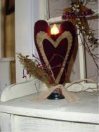 Wool Heart Light-