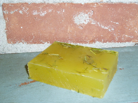 Lemongrass on Lemongrass Soap-