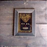 Medium Cat Framed Art-
