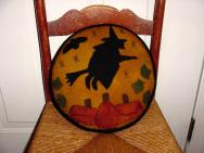 Round Witch pillow-