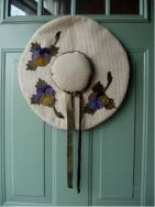 Primitive Spring Hat wall decor