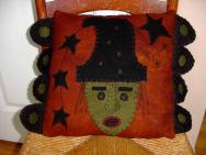 Witch Face pillow-