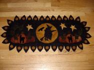 Witch Penny Rug Wool Runner-